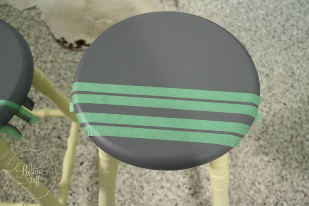 Aubusson & Soap stone stools-3739