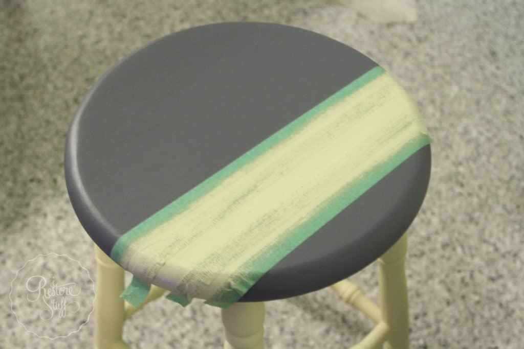 Aubusson & Soap stone stools-3740