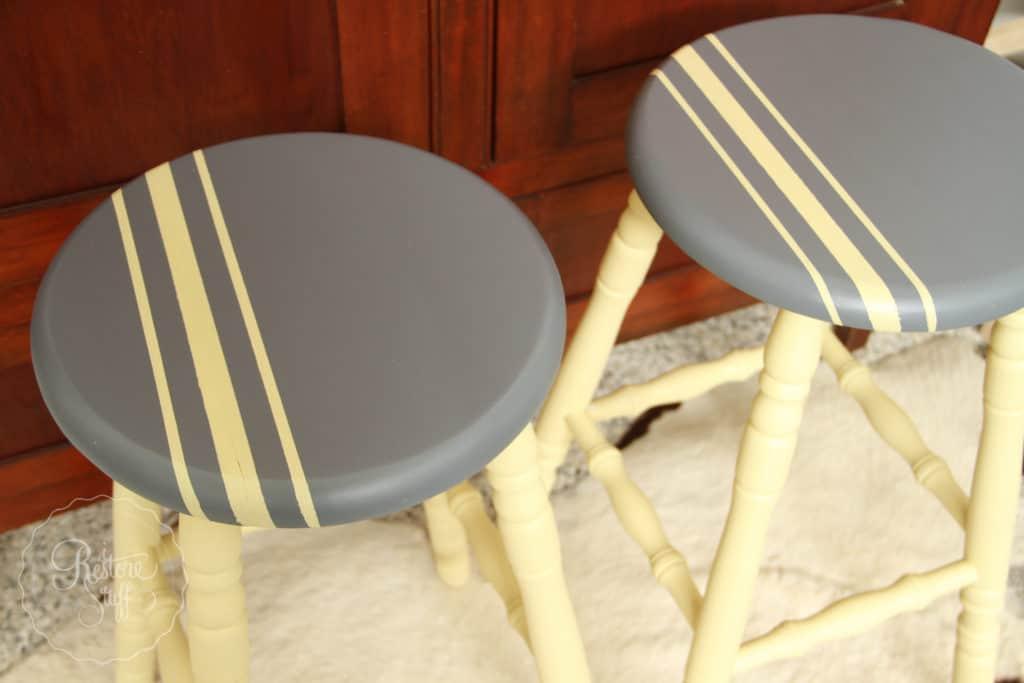 Aubusson & Soap stone stools-3751