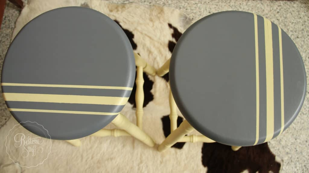 Aubusson & Soap stone stools-3754