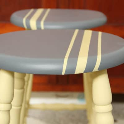 Two Little Stools – From Ghastly to Trendy