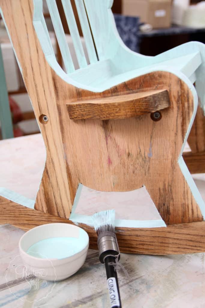 Little Teapot toddler rocker-3806