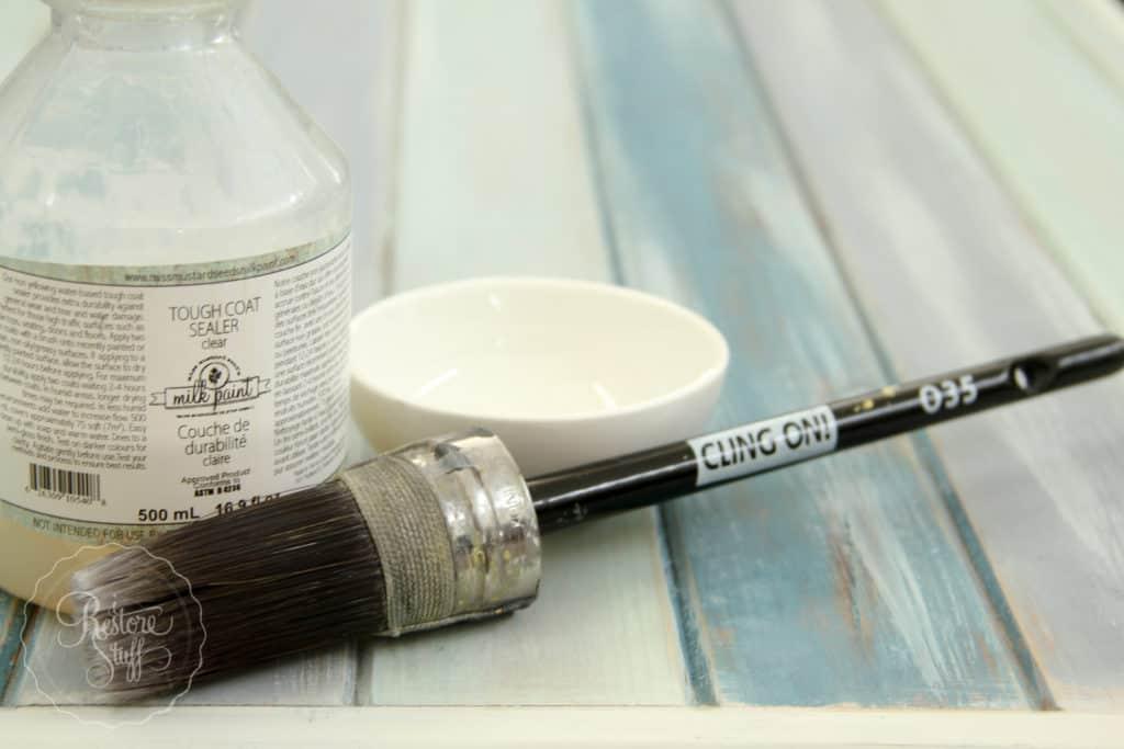 Boho Milk Paint coffee table-4398