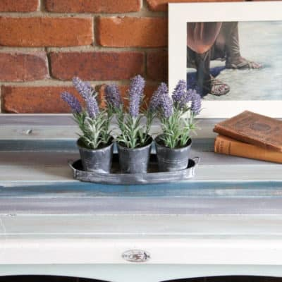The Boho Coffee Table Milk Paint Experiment