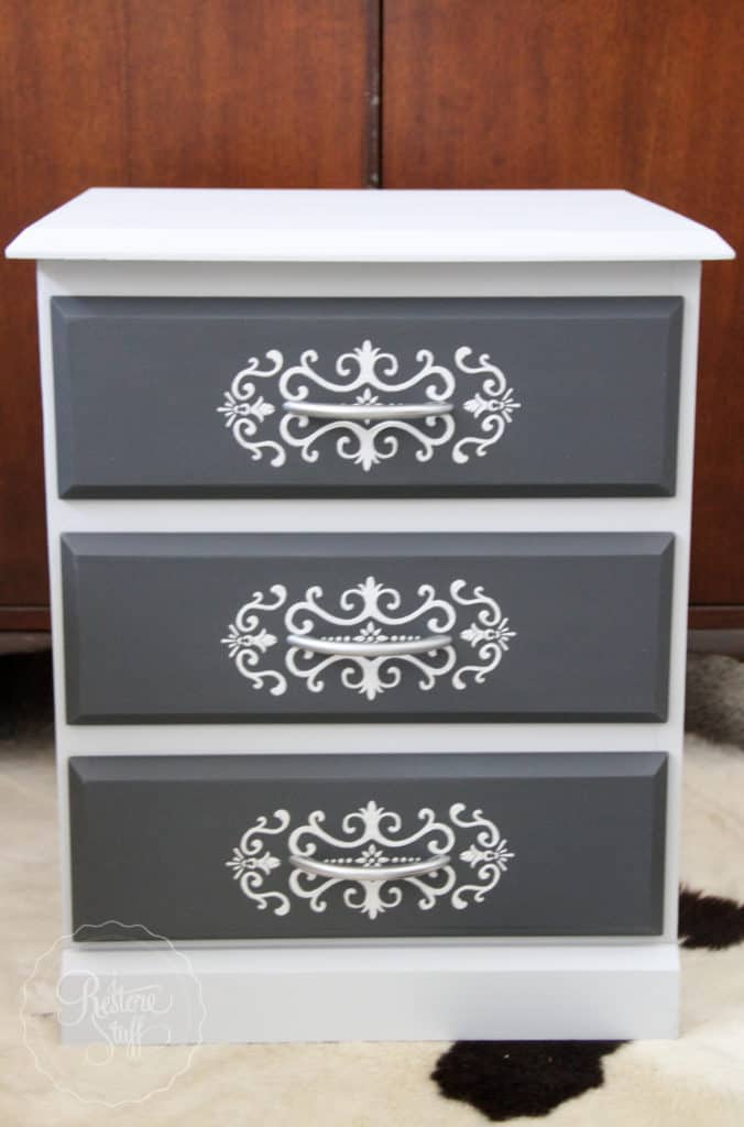 Embossed drawer stencil Sterling & Ash-1789