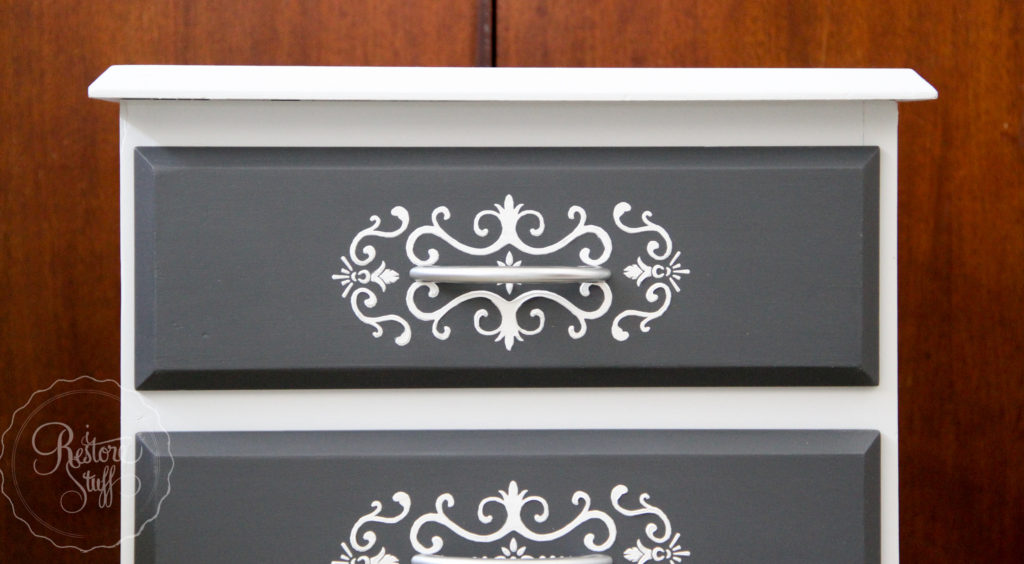 Embossed drawer stencil Sterling & Ash-1793