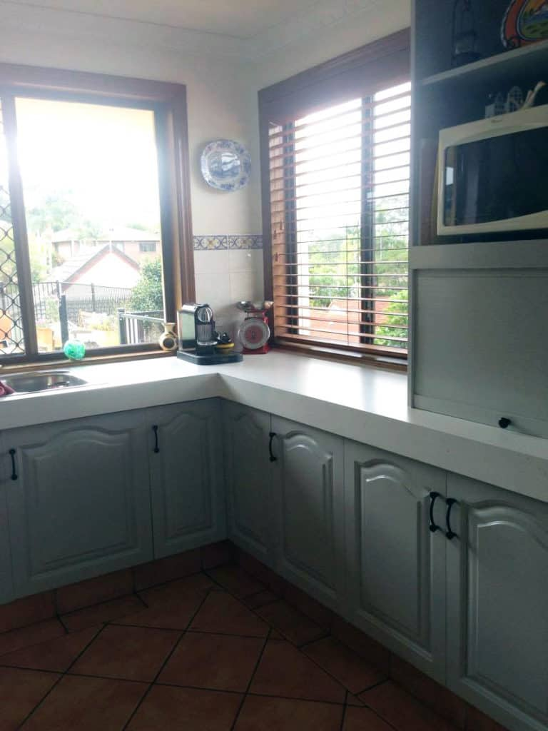 Fusion Mineral Paint Kitchen makeover