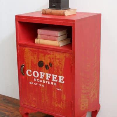 A Vintage Pot Cupboard Milk Paint Transformation