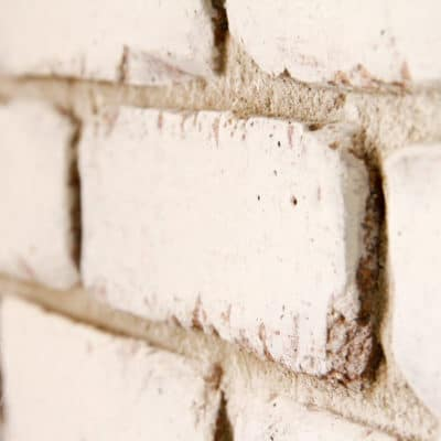Brick Wall Meets Miss Mustard Seed's Milk Paint!