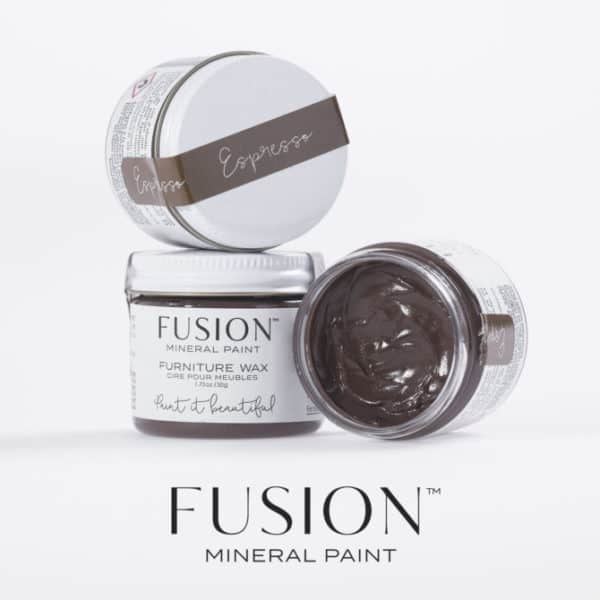 Fusion Espresso Furniture Wax