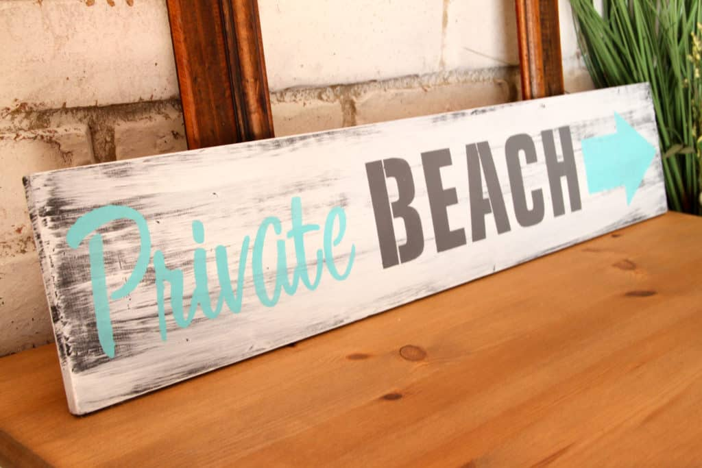 Beach Stencil