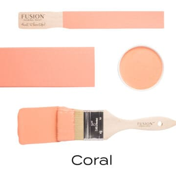 coral by fusion mineral paint