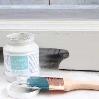 The Basics of Painting Furniture using Fusion Mineral Paint – Part 1