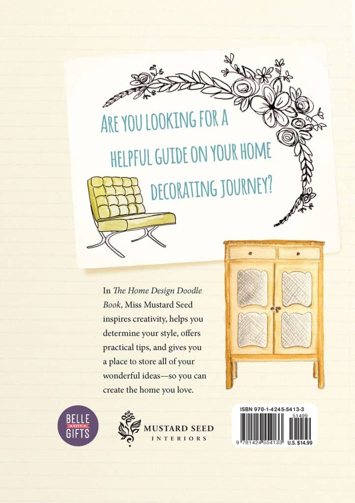 Home Design Doodle Book