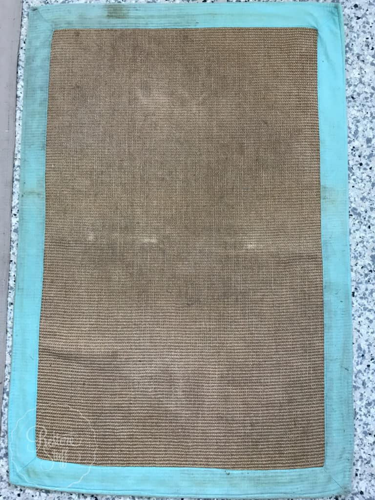 Don't Throw Out That Old Jute Rug