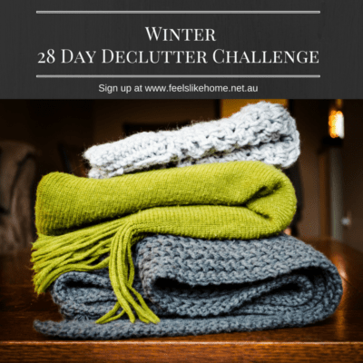 It's Time to Declutter – a 28 Day Challenge!