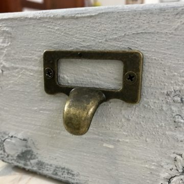 Brass Pull Label Holder