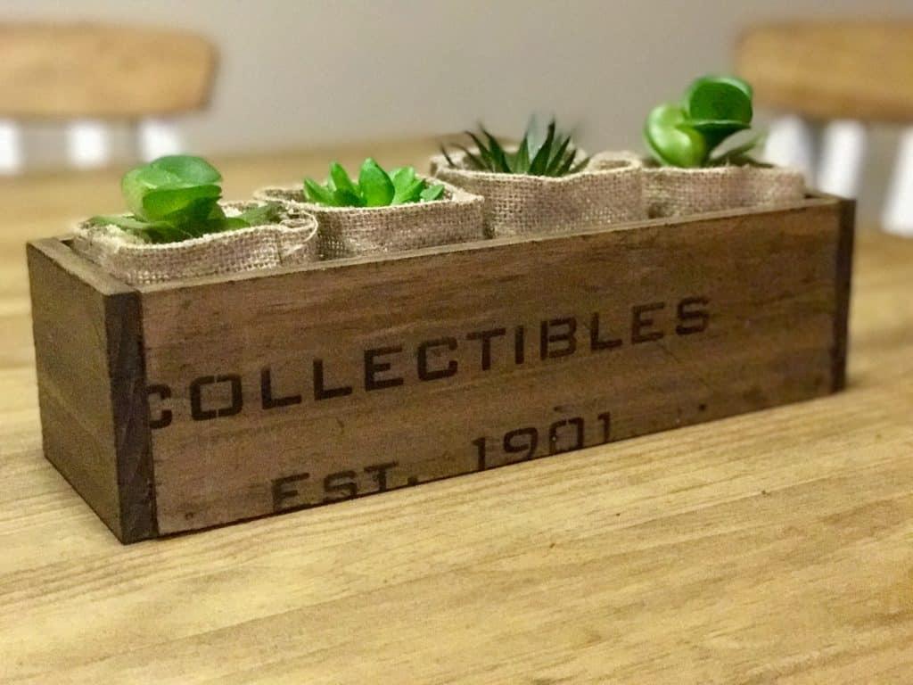 planter centrepiece