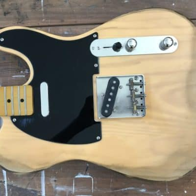 You want me to AGE your Fender Guitar?? Unusual Custom Requests