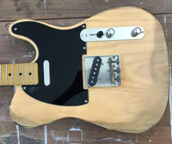Fender Guitar Aged
