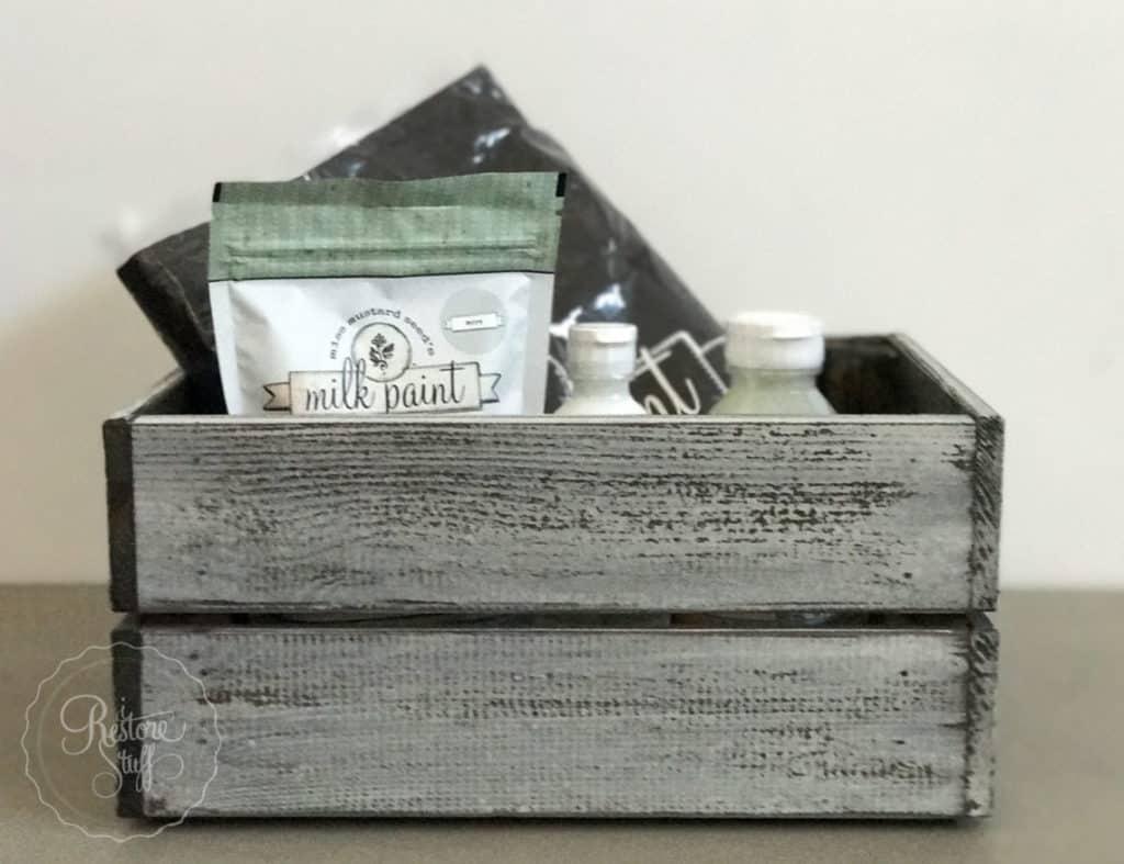 Ikea Pine Box