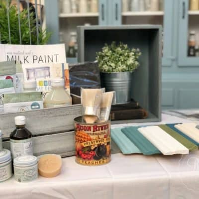 Milk Paint Demo Day & Moving in to my Shop Space!