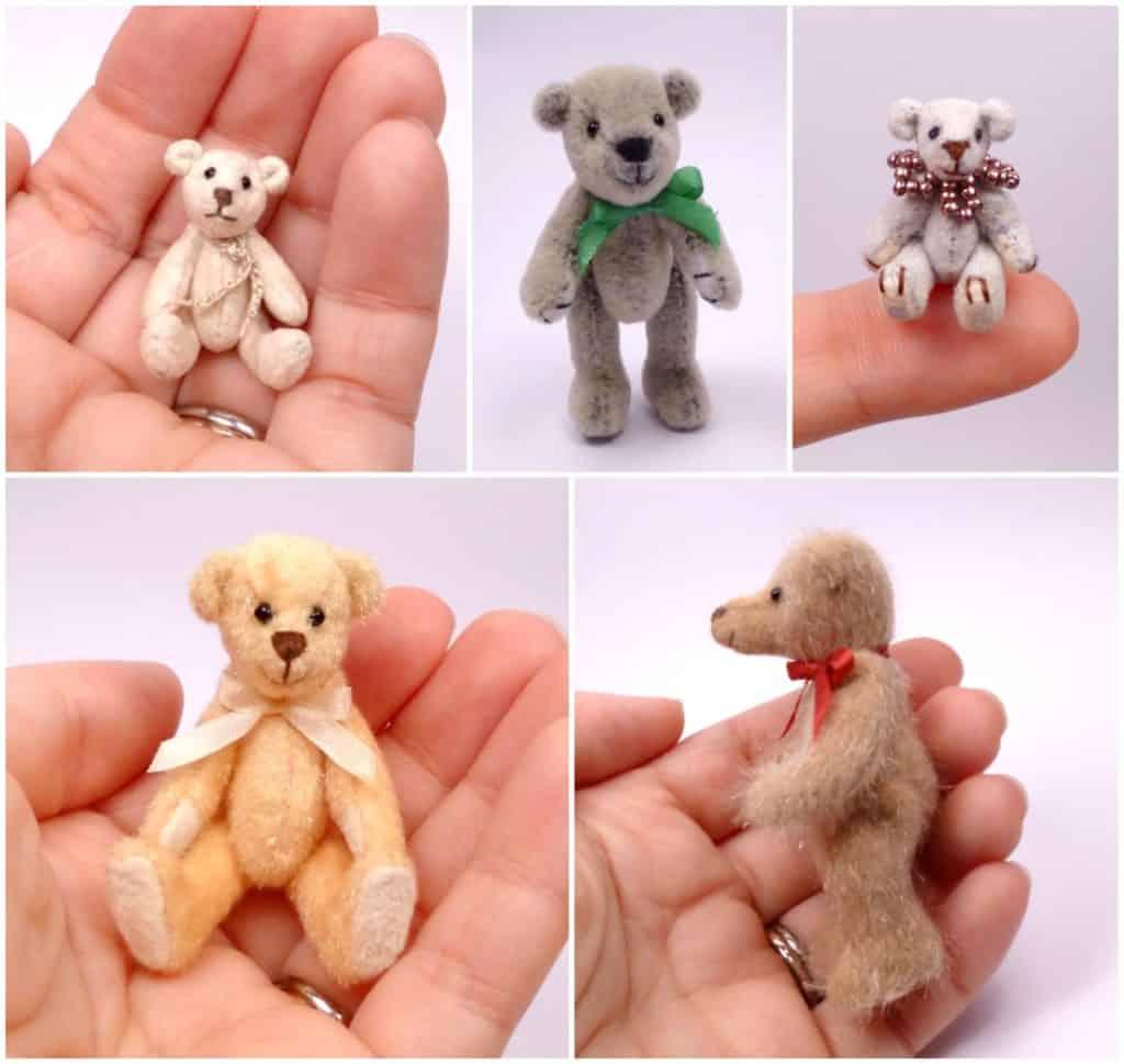 Miniature bears Vonne Bears