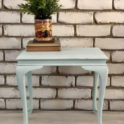 White Wash Using Clear Glaze & White Paint