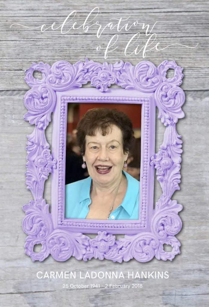 LaDonna Hankins Celebration of Life, Mom