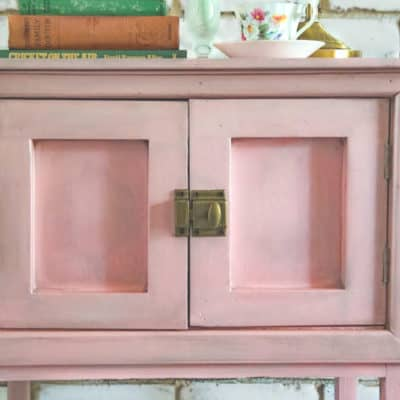 A Little Pink Pot Cupboard Gets a Refresh
