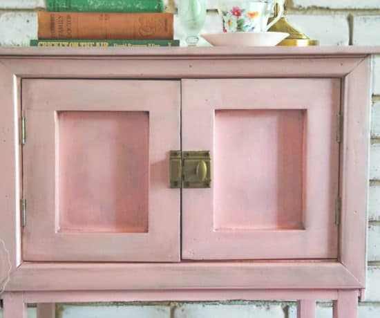 English rose pot cupboard