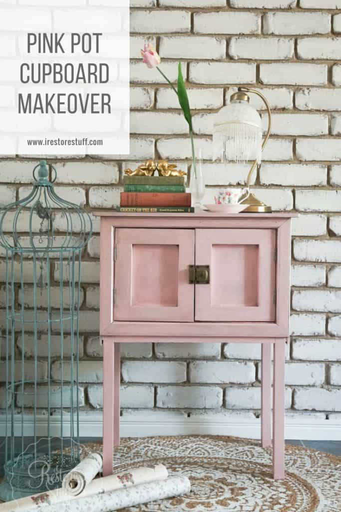 Pink Pot Cupboard Pinterest