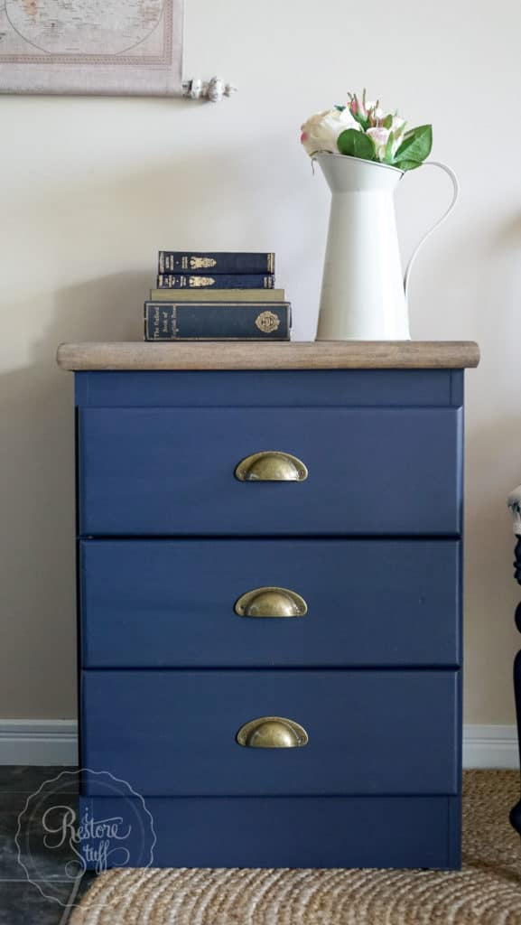 Midnight Blue bedside table