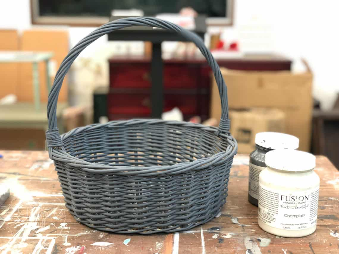 creating a french country basket