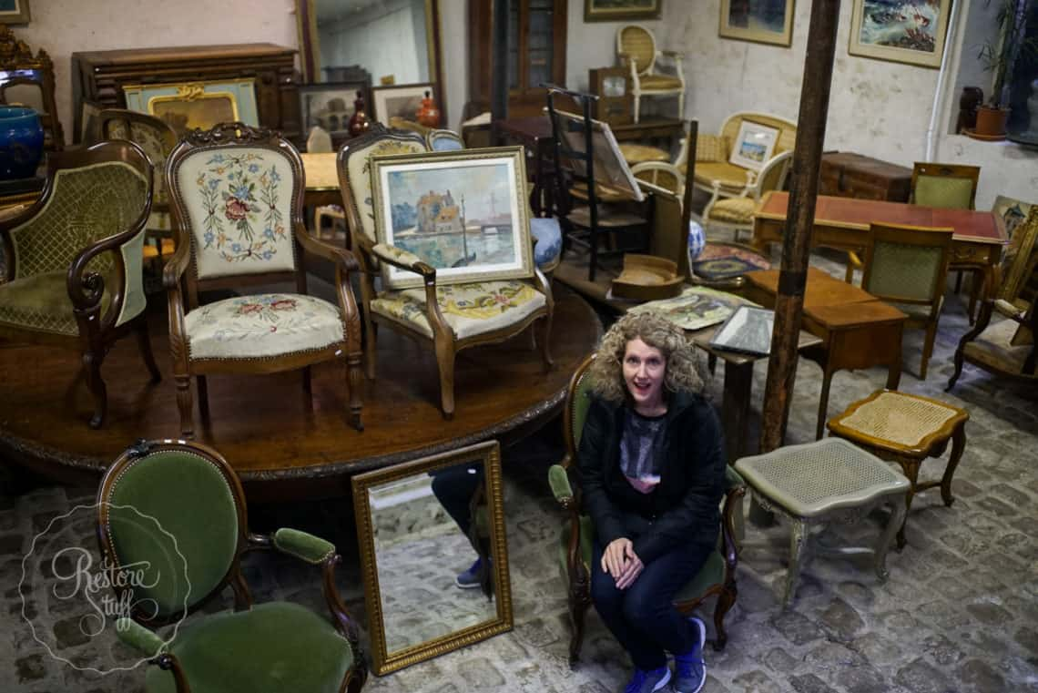 An Antique Store In Vercailles France I Restore Stuff
