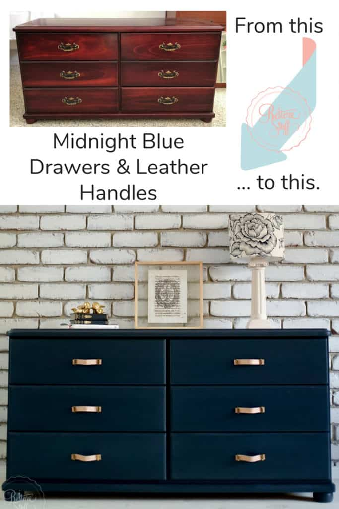 Midnight Blue Drawers