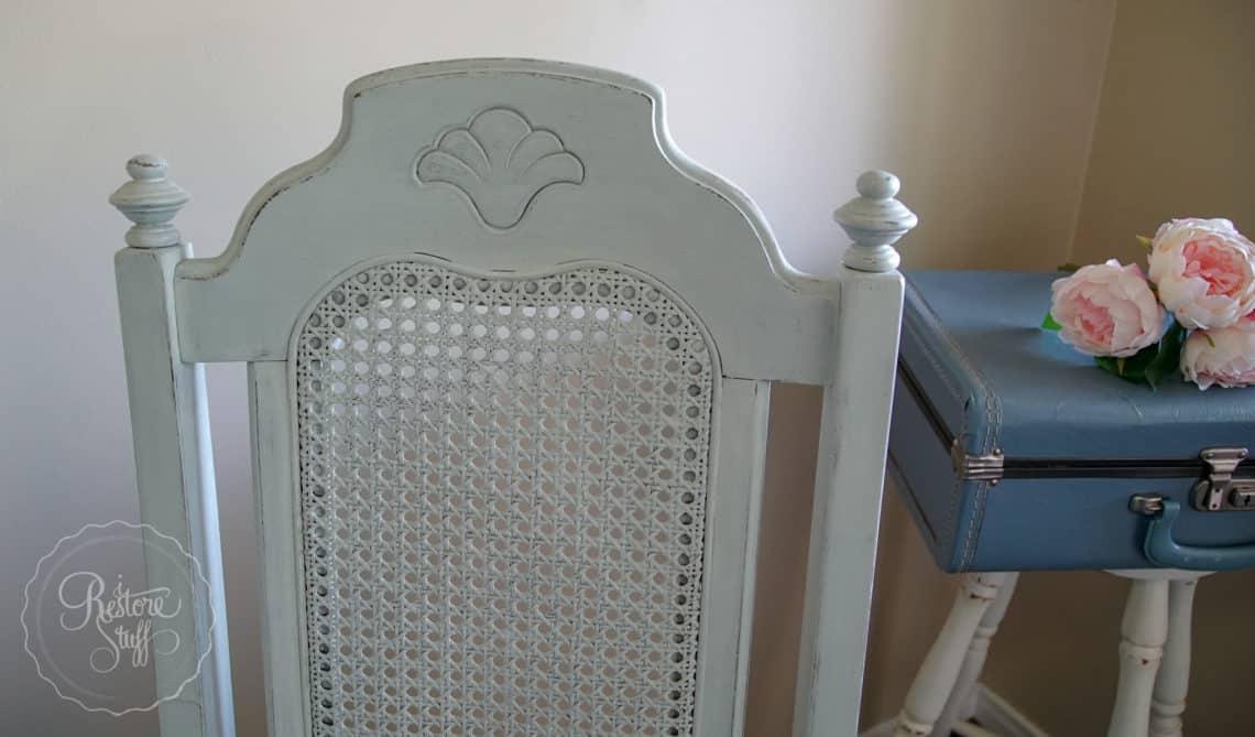 Mora Milk Paint on chairs