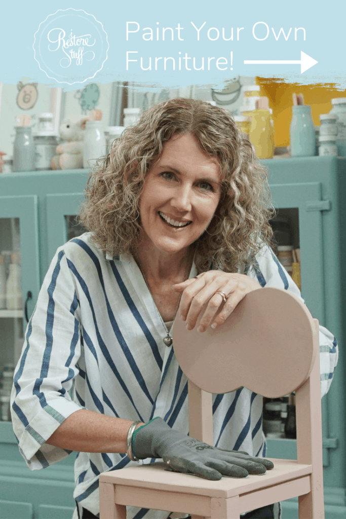 Learn to paint furniture with Sharon