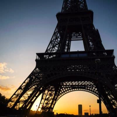 Visiting Paris – Sacré-Cœur and the Eiffel Tower
