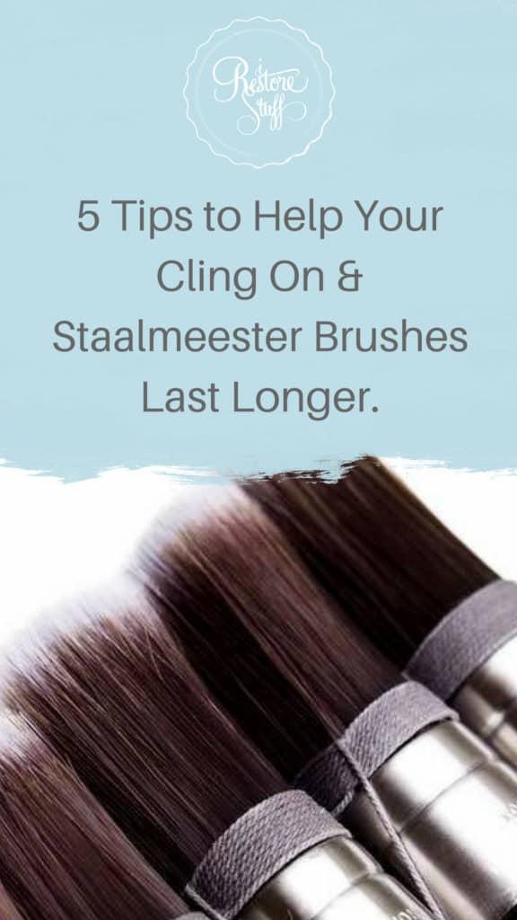 Pinterest image for brush tips