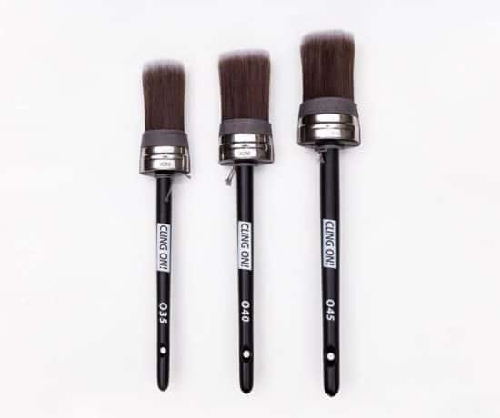 Cling on brushes oval