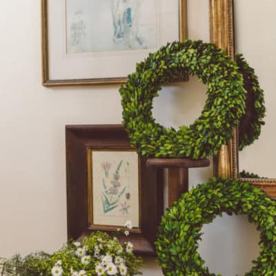 Welcome these Beautiful Year Round Wreaths to your home this Spring!