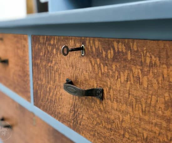 Silky Oak Dresser