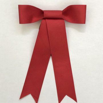 Red Wreath Ribbon