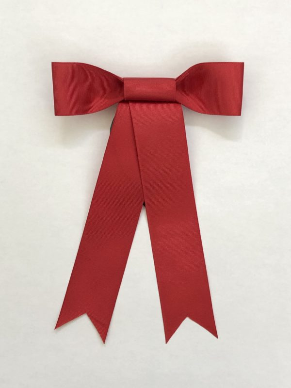 Red Wreath Ribbon