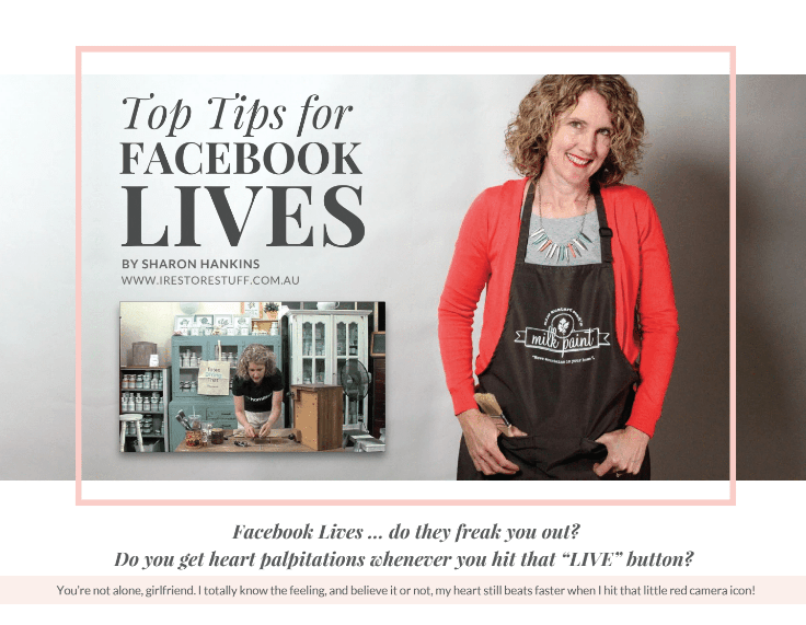 Facebook Live tips in CWIB Magazine
