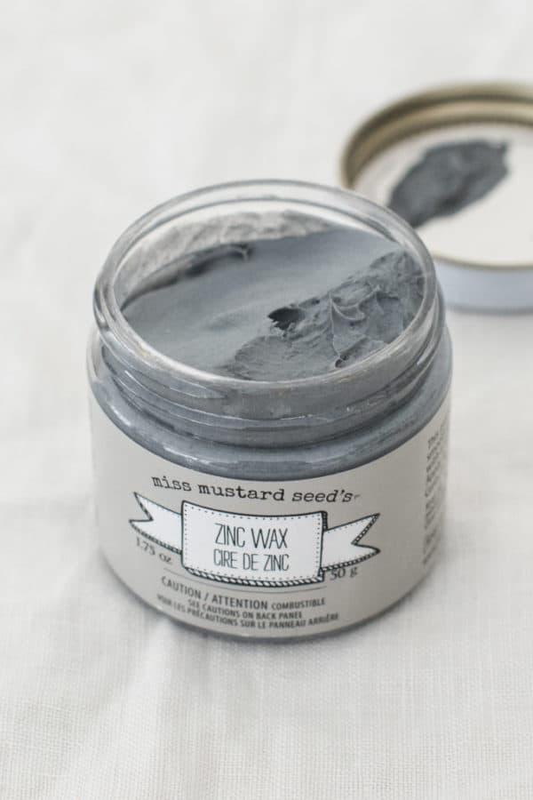 Zinc wax