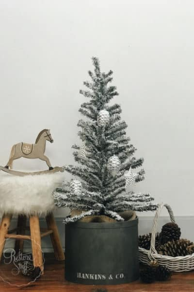 $5 KMart Christmas tree