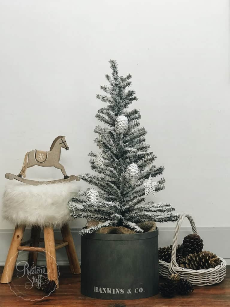 $5 KMart Christmas tree