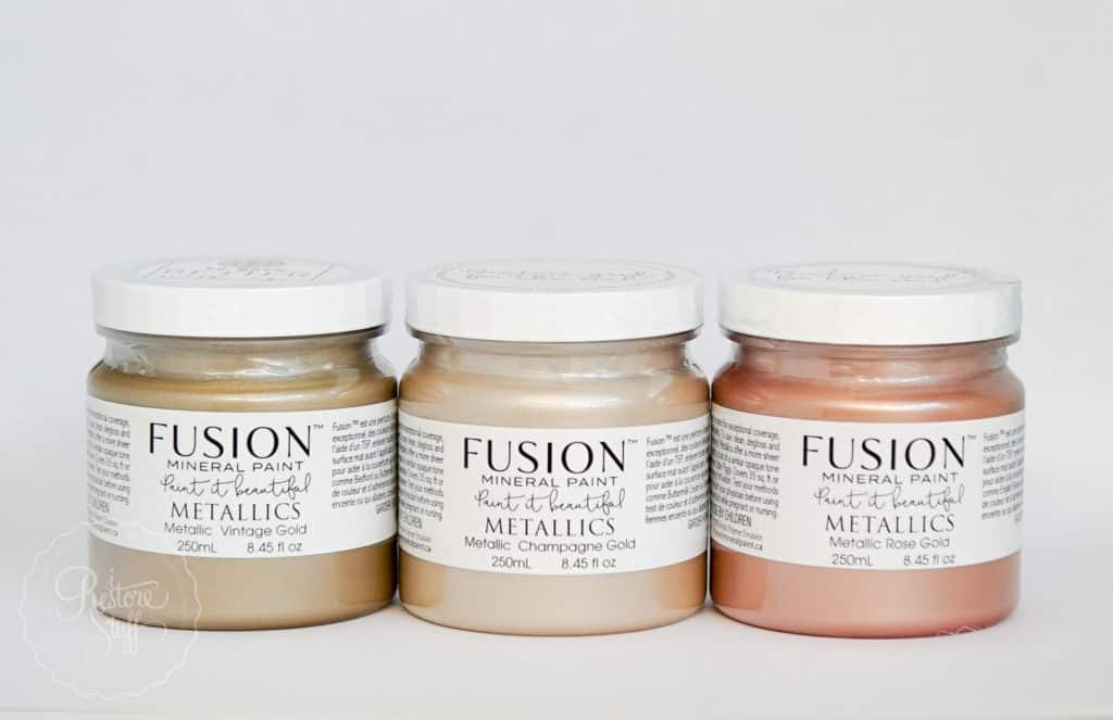 Fusion metallic paints
